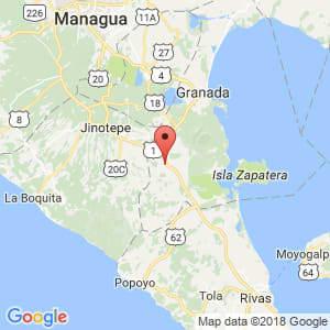 Localización de Nandaime en Granada