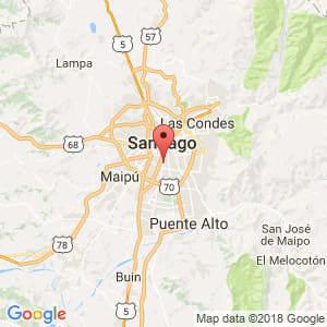 Localización de San Miguel en Metropolitana de Santiago