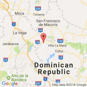 Localización de Fantino en Sánchez Ramírez