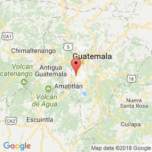 Localización de Villa Nueva en Guatemala