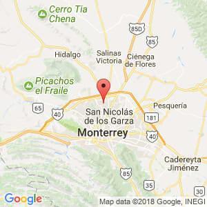 Localización de General Escobedo en Nuevo León
