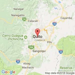 Localización de Quito en Pichincha