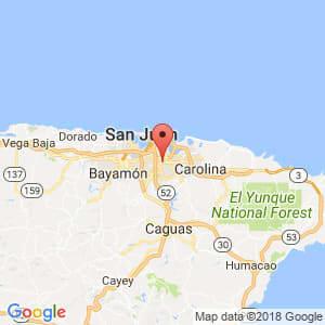 Localización de Caparra en San Juan