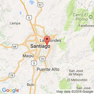 Localización de Ñuñoa en Metropolitana de Santiago