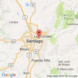 Localización de Providencia en Metropolitana de Santiago