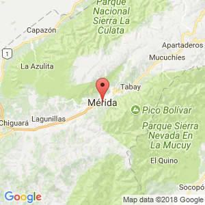 Localización de Mérida en Mérida