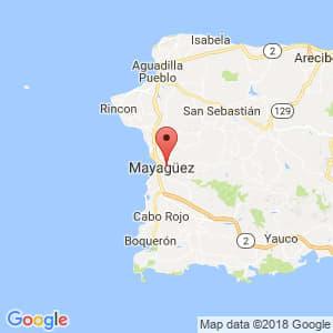 Localización de Hormigueros en Mayagüez-Aguadilla