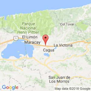 Localización de Turmero en Aragua
