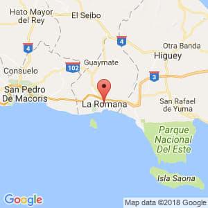 Localización de La Romana en La Romana