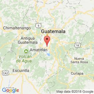 Localización de San Miguel Petapa en Guatemala