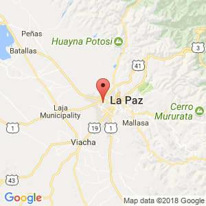 Localización de El Alto en La Paz