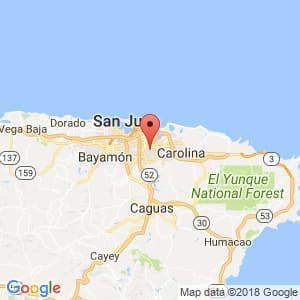 Localización de Rio Piedras en San Juan