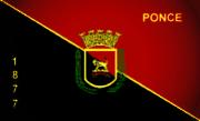 Bandera de Ponce, Ponce