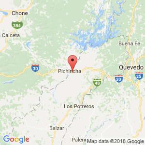 Localización de Pichincha en Manabí