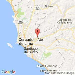 Localización de Lurigancho en Lima Provincias