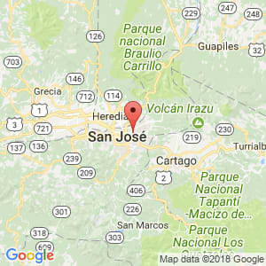 Localización de Guadalupe en San José