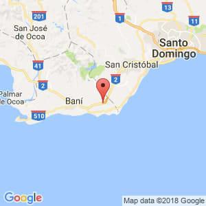 Localización de Santana en Peravia