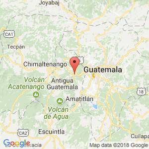 Localización de San Lucas Sacatepéquez en Sacatepéquez