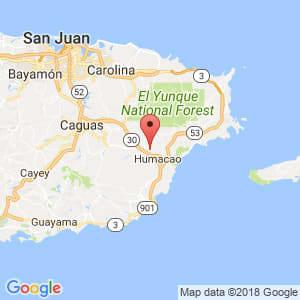 Localización de Río Grande en Humacao