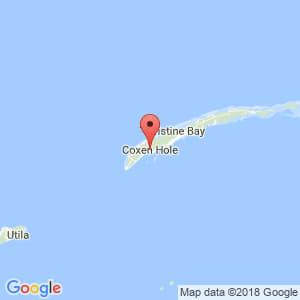 Localización de Coxen Hole (Roatán) en Islas de la Bahía