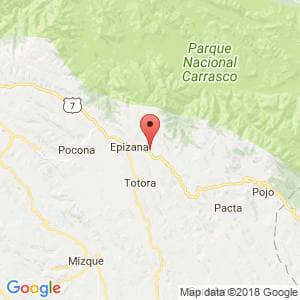 Localización de Esmeralda en Cochabamba