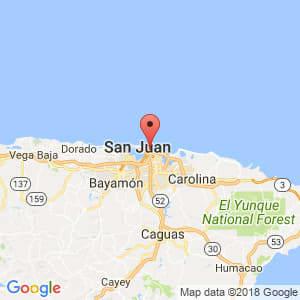 Localización de Condado en San Juan