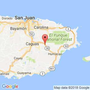 Localización de Juncos en Humacao