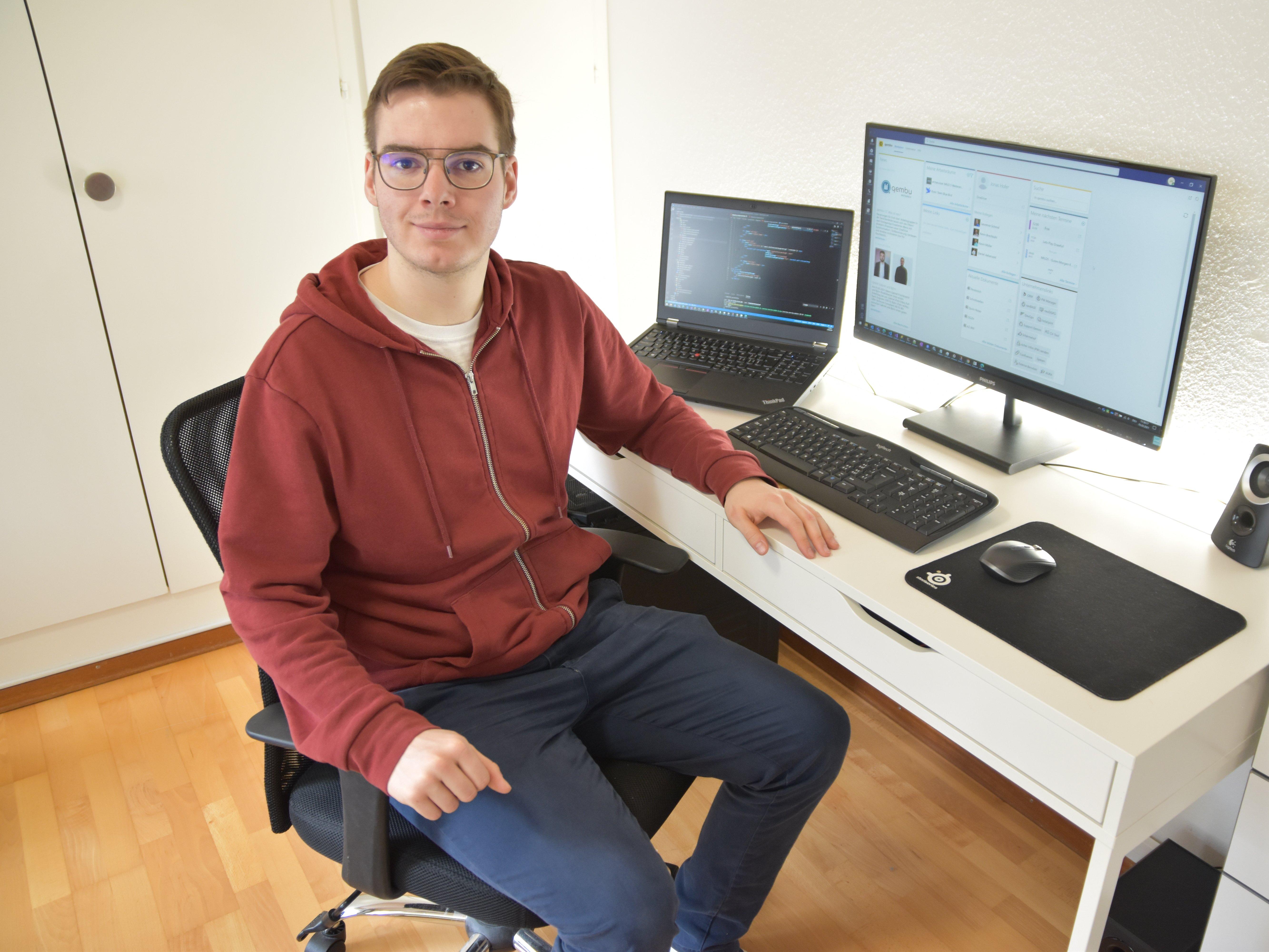 Nexplore Softwareentwickler Jonas Hofer