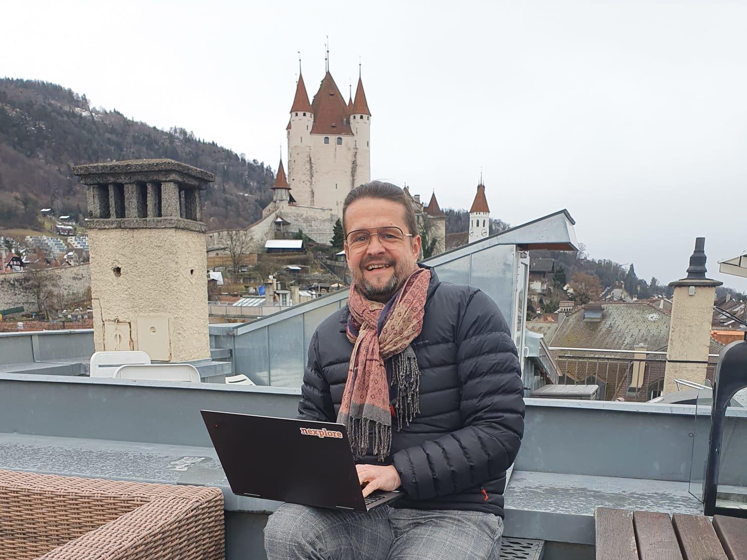 Nexplore Projektleiter Patrick von Gunten