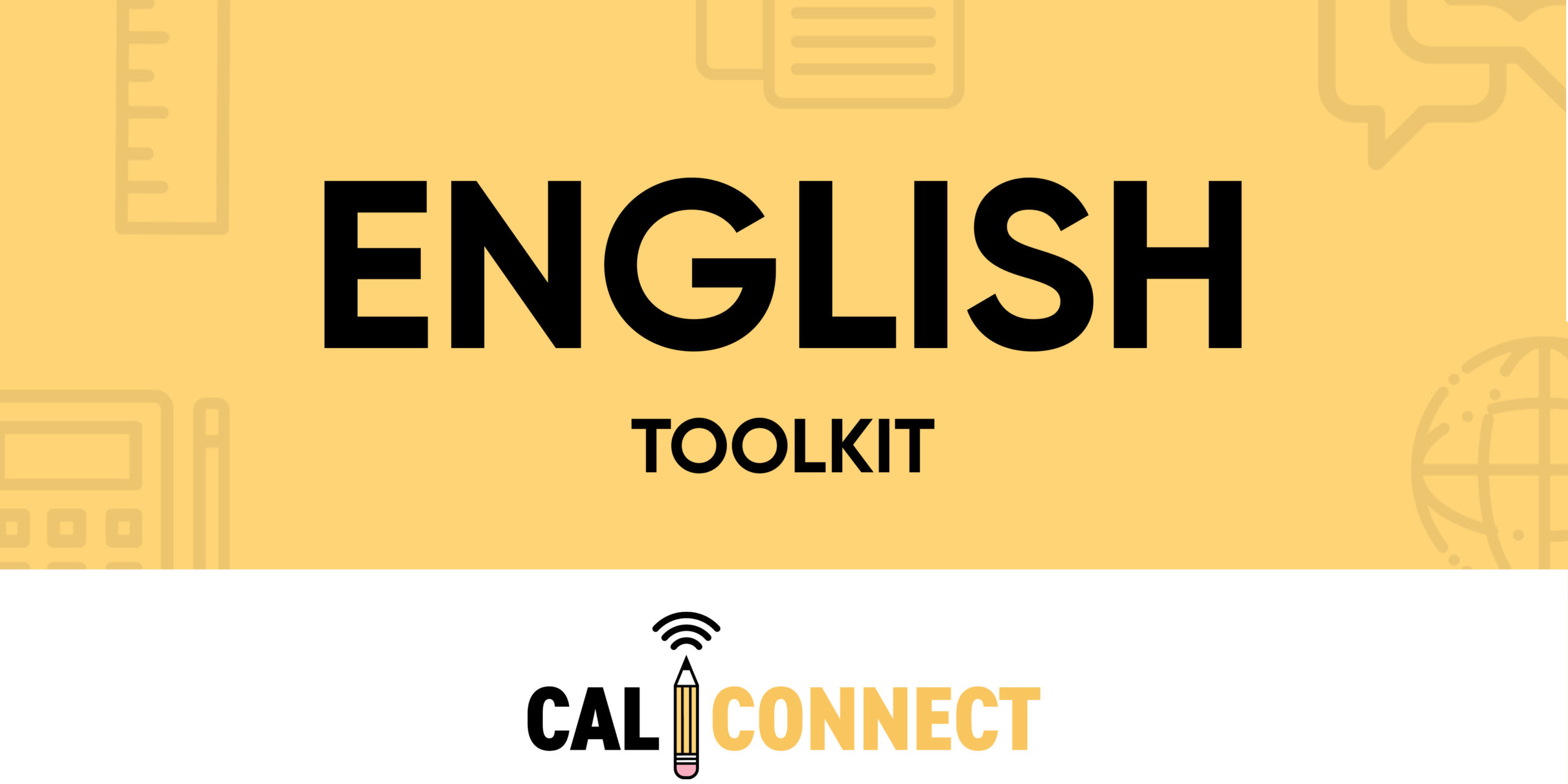 CALConnect English Toolkit