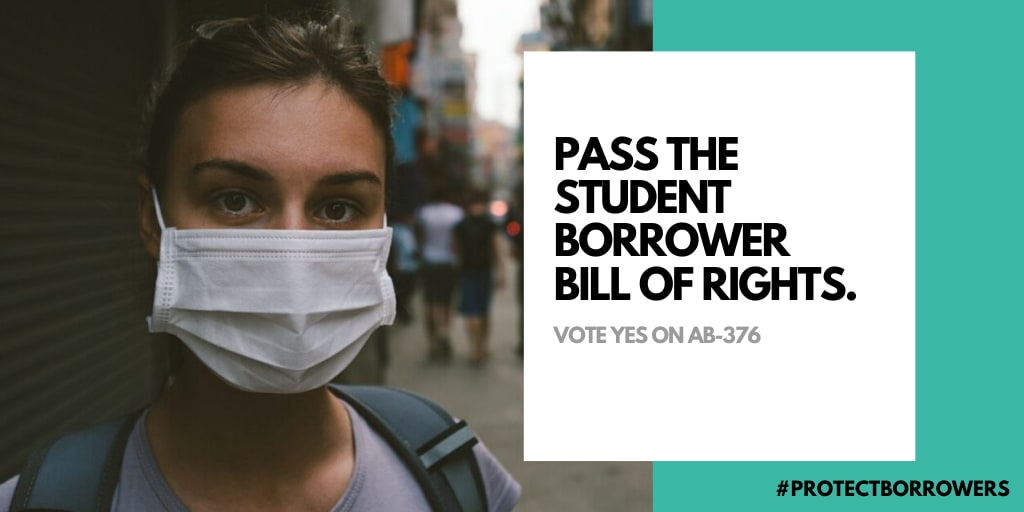 Pass the student borrower bill of right #ProtectBrrowers