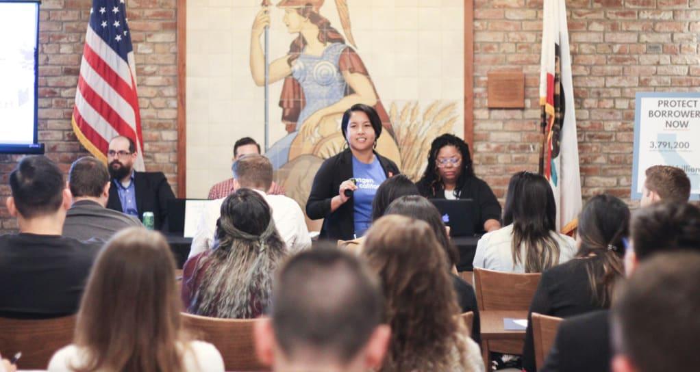 Samantha Seng, Student Loan Debt Workshop