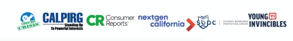 Student Loan Debt Webinar Partner Logos