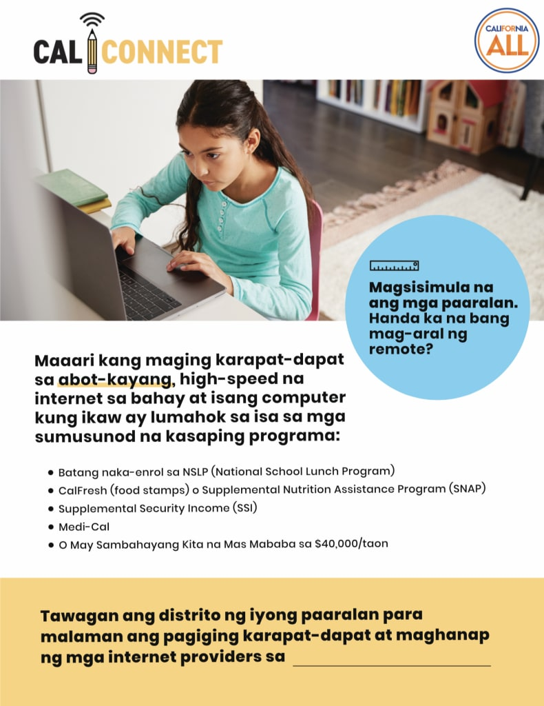 Young girl on Computer_Flyer_Tag