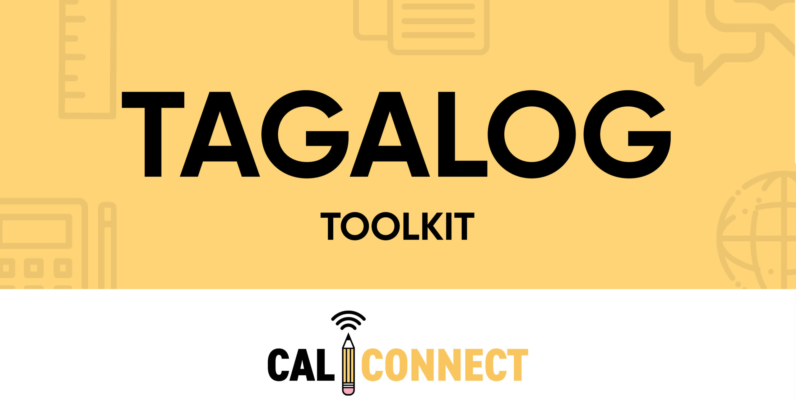 CALConnect Tagalog Toolkit