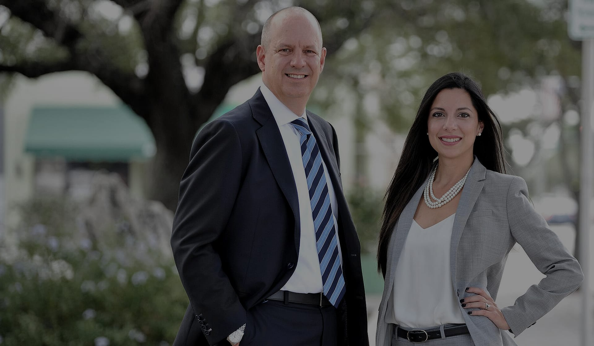 Charles Cartwright and Adriana Gonzalez