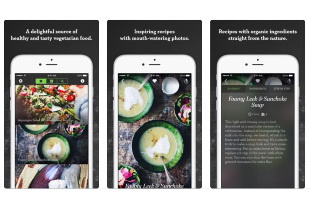 Use your smartphone to show content