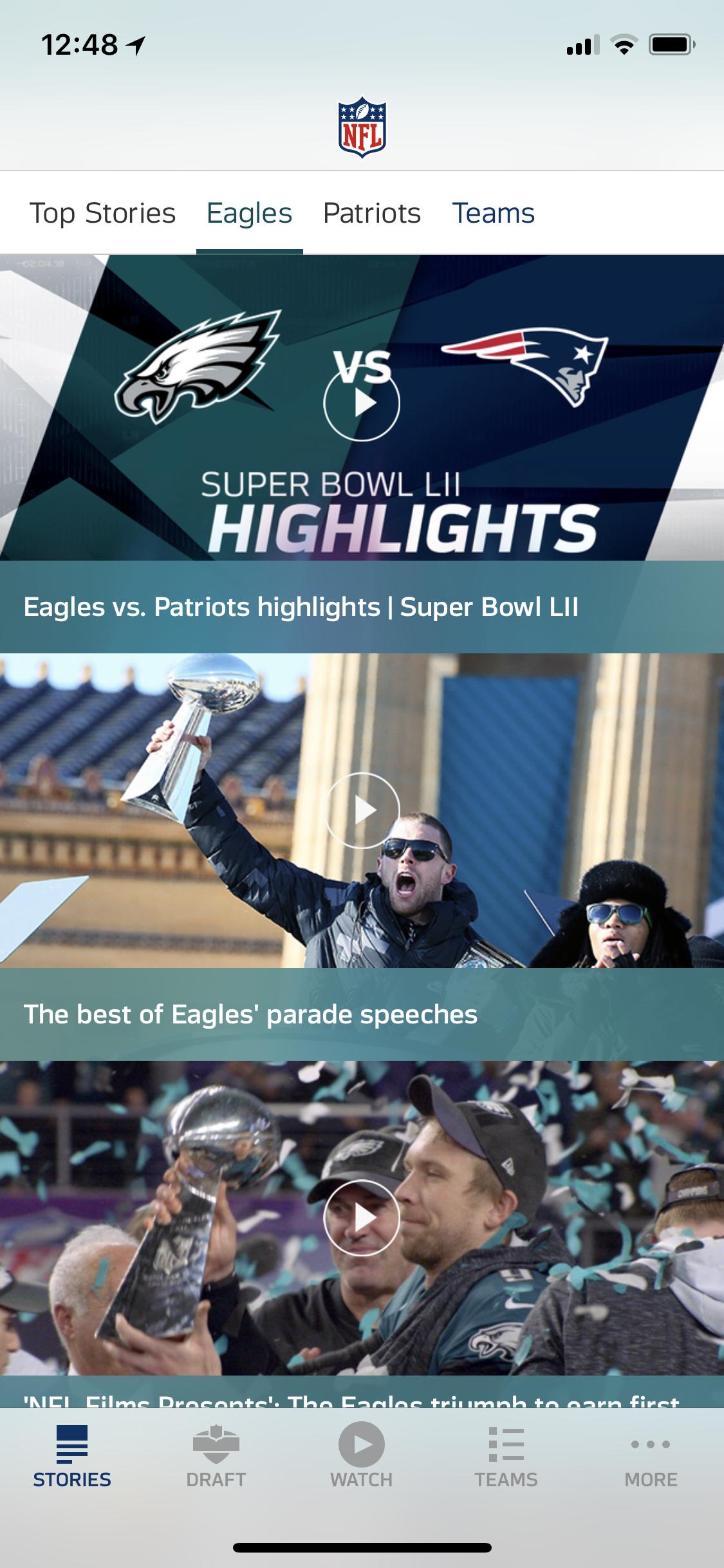 Download the NFL Mobile App