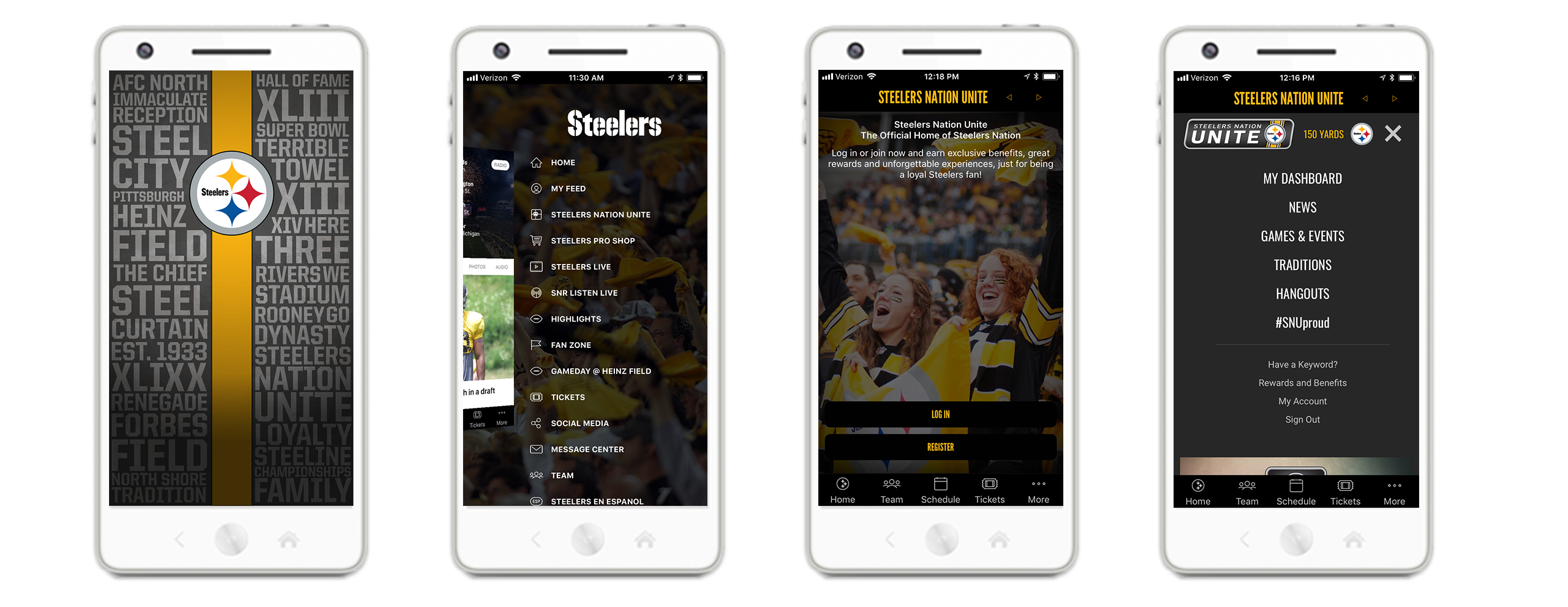 Download the Official App of the Pittsburgh Steelers