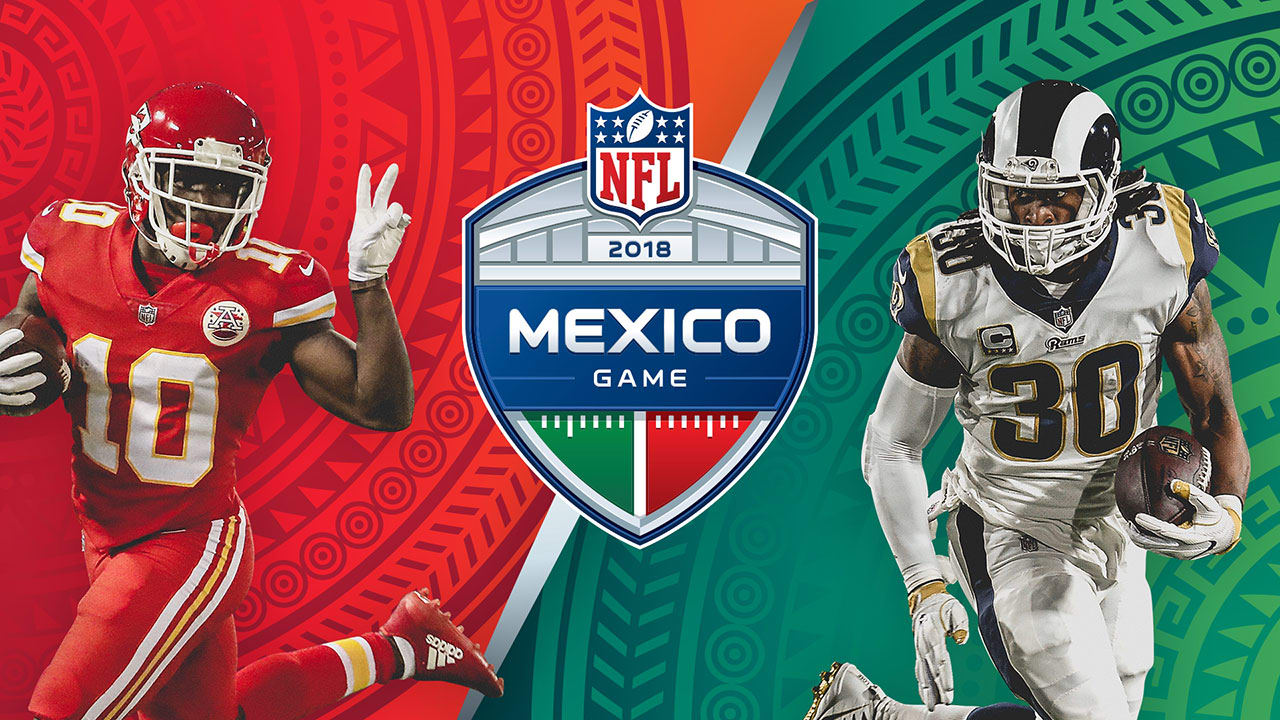 Image result for chiefs rams mexico city