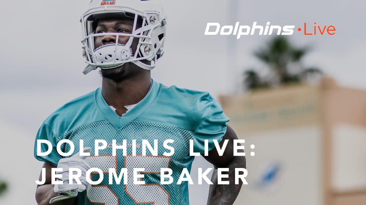 jerome baker dolphins jersey