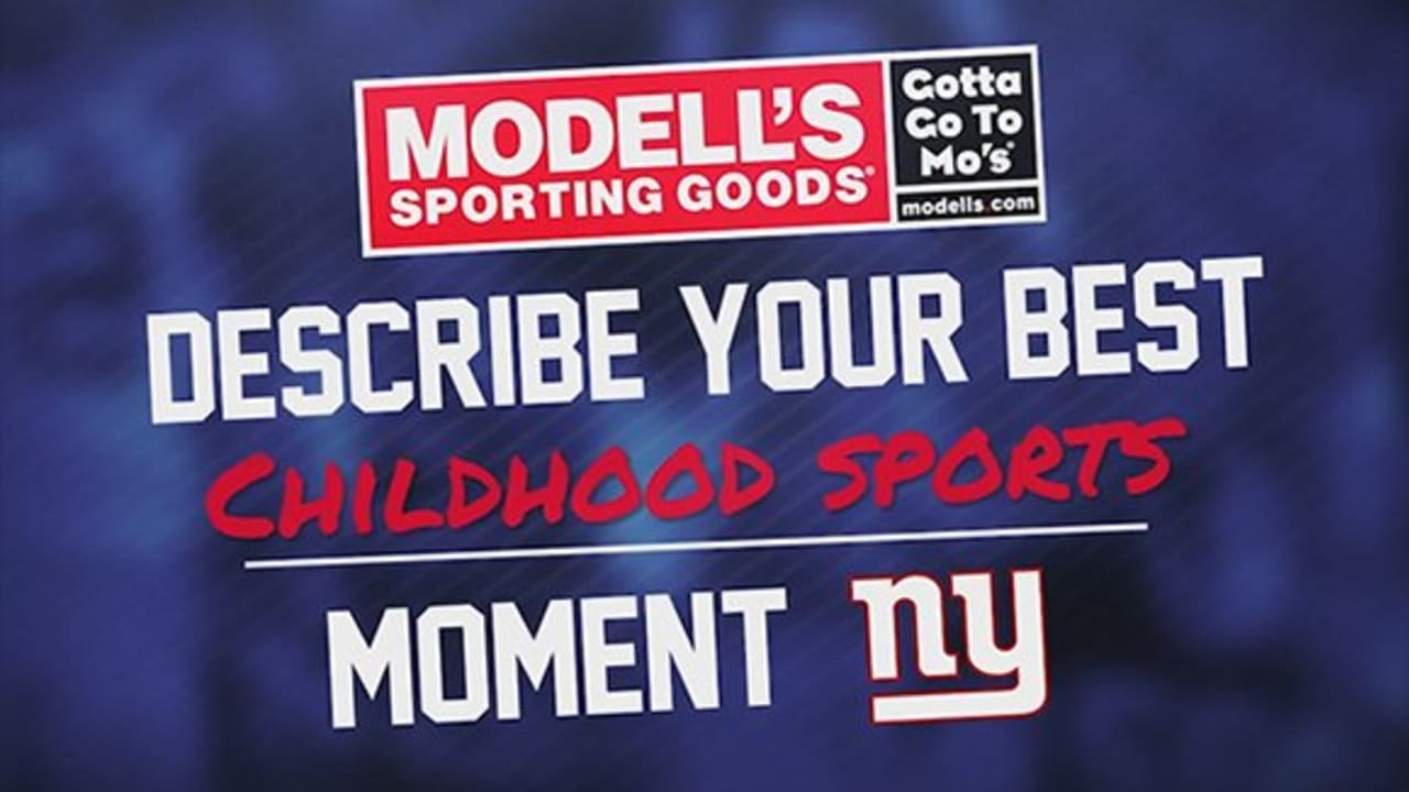 Giants share best childhood sports moment ad790081e