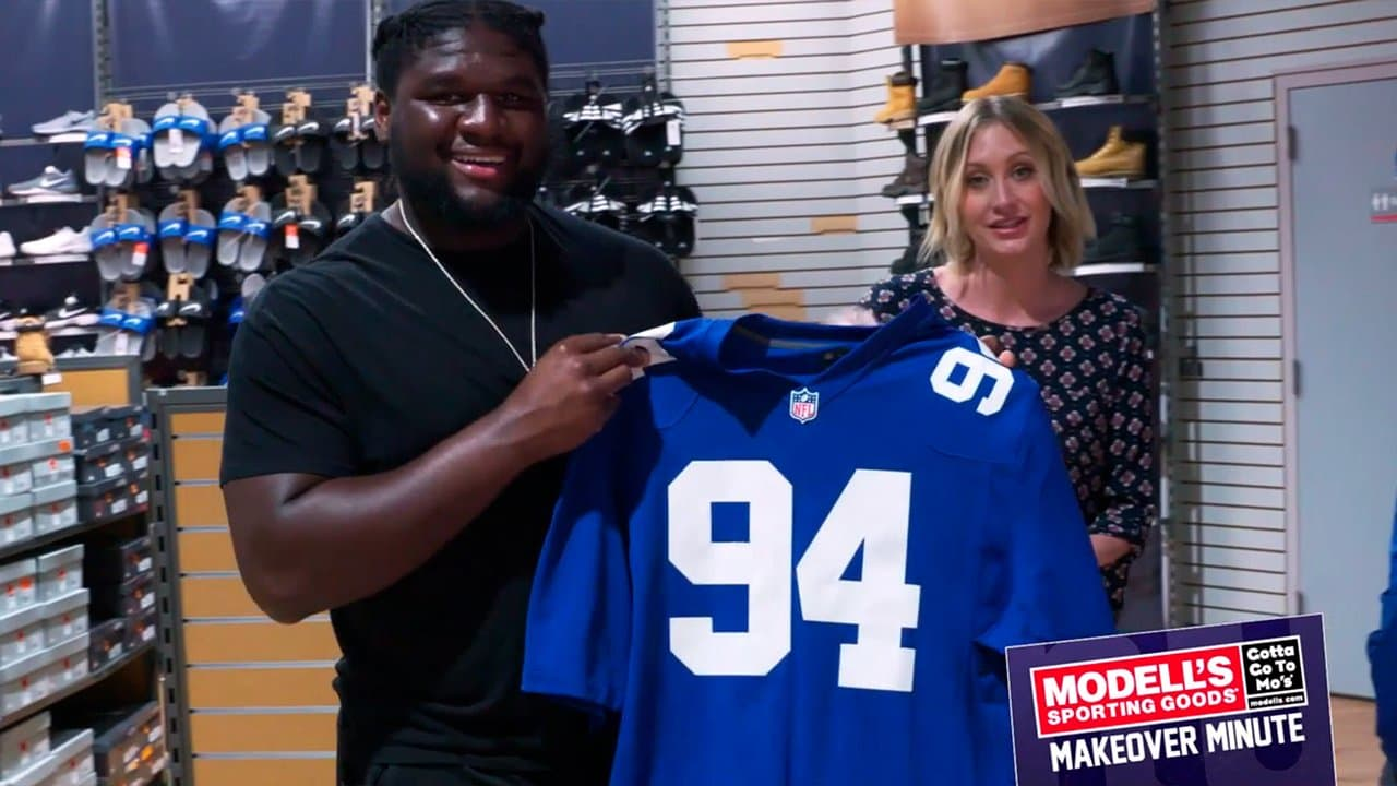 Modell s Fan Makeover with Dalvin Tomlinson 5ca00ac14