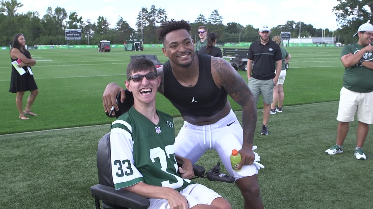 Image result for jamal adams makes fans day