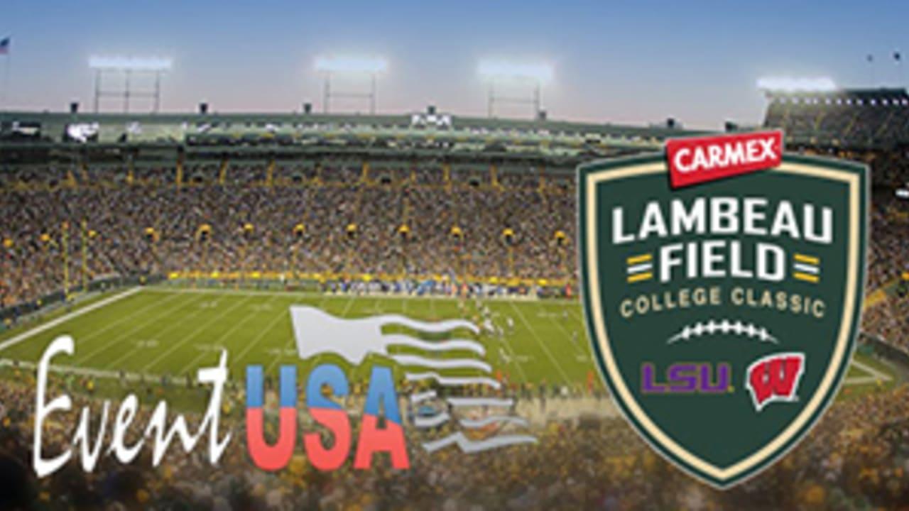 Lsu Vs Wisconsin Lambeau Field