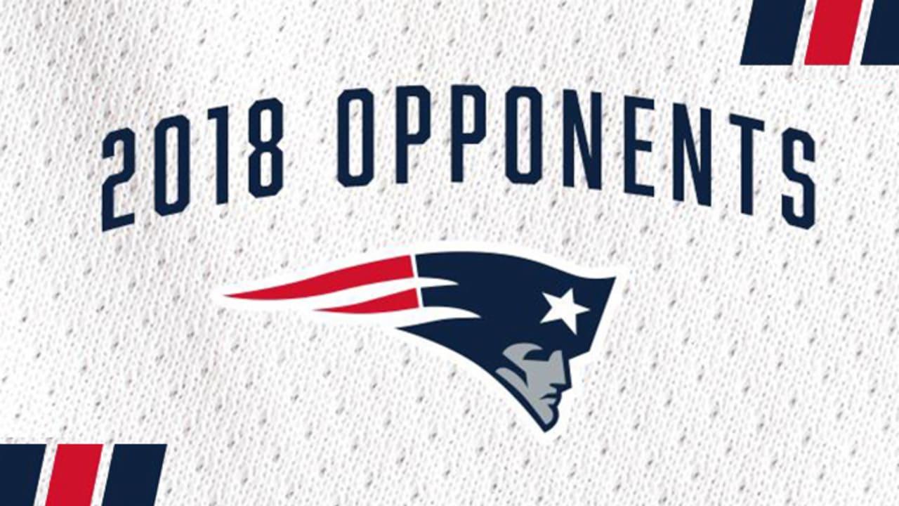 2018 Patriots Opponents