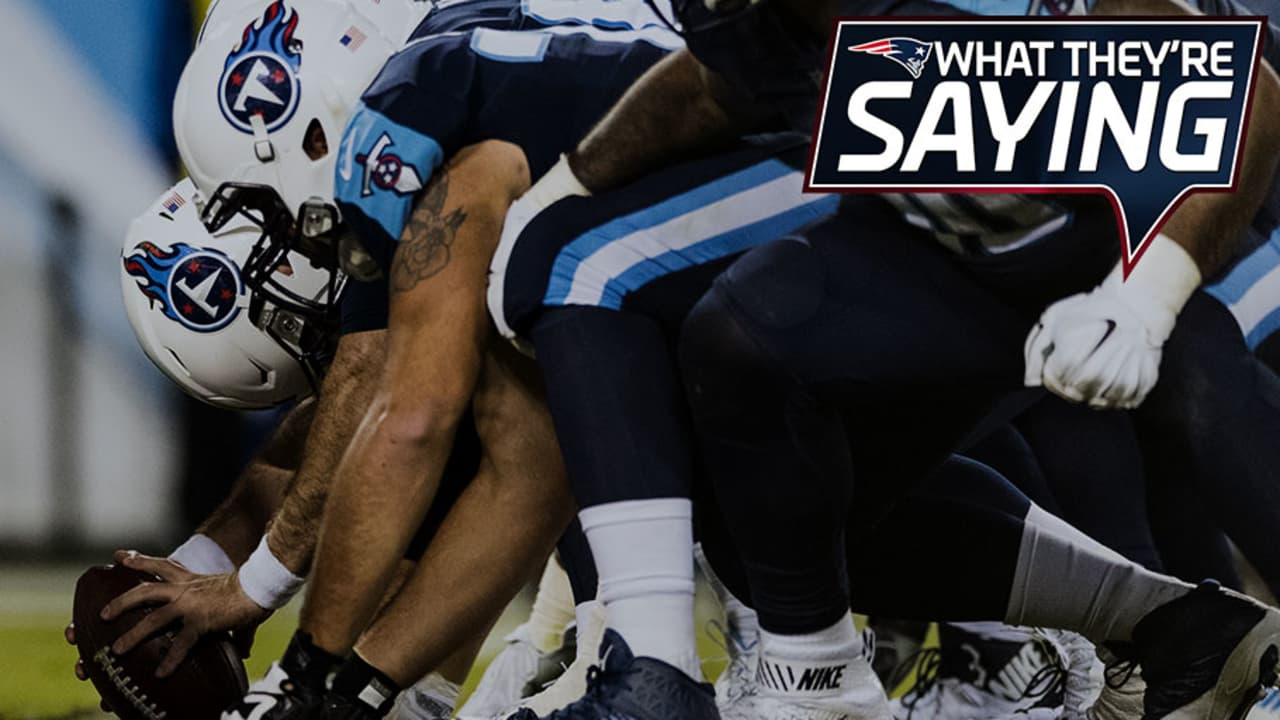 What They're Saying: Tennessee Titans