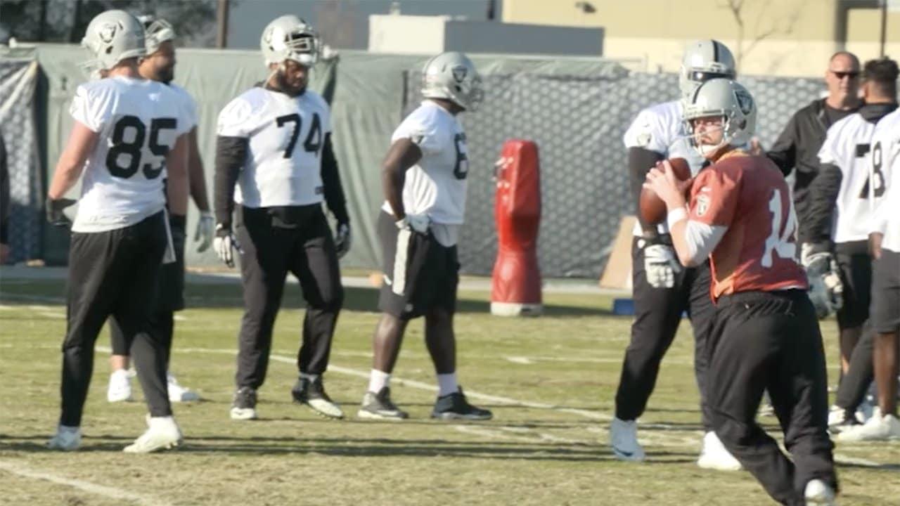 Raiders Prepare For Broncos 8f91088bc