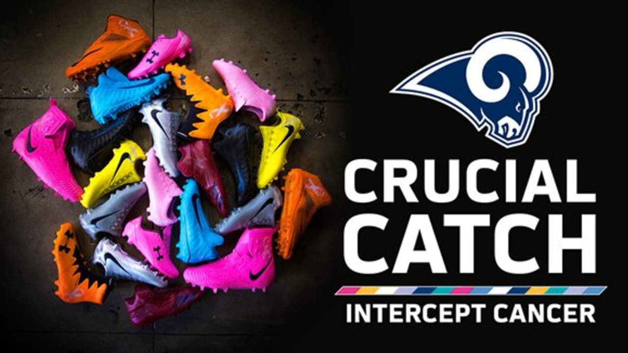 Rams Support  CrucialCatch Campaign a4cfbe03c