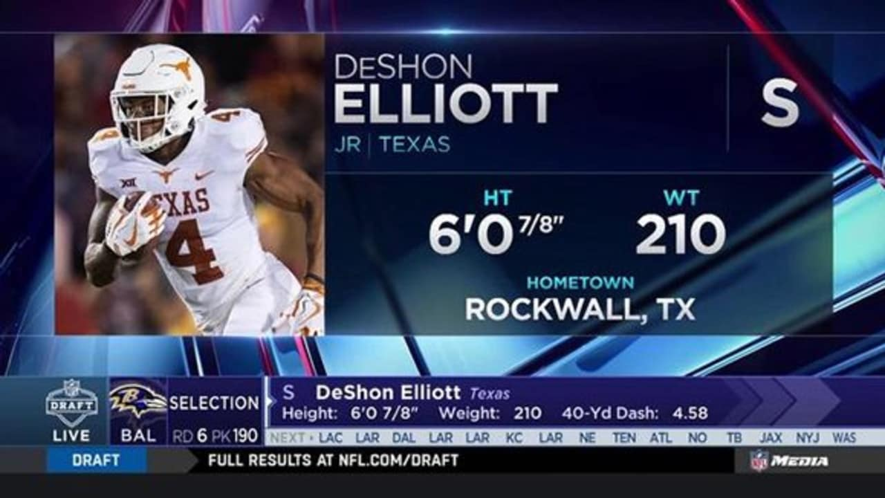 DeShon Elliott NFL Jersey